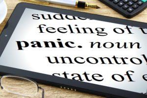 Panic definition